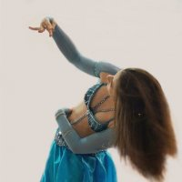 Танец в голубом :: Наталия Григорьева