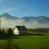 Travel photography Швейцария. За окном Альпы. :: Murat Bukaev