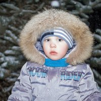 Краснощёкая Зима! :: Елена Нор