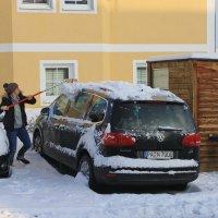 Первый снег и первые заботы :: Вальтер Дюк