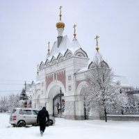 По дороге к храму. :: Мила Бовкун