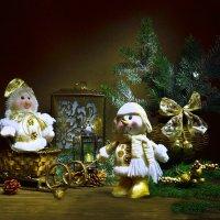 Новогодние забавы... :: Валентина Колова