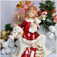 Рождественский ангел. :: Валерия Комова