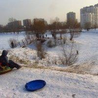 В Москве - мороз (минус 18). Нашли чем пугать детей! :: Андрей Лукьянов