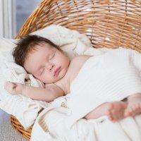 """Спящий малыш :: Первая Детская Фотостудия """"Арбат"""""""