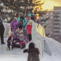 Любимые зимние забавы. :: Альмира Юсупова