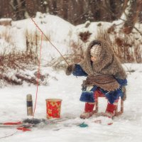 Зимняя рыбалка :: Валерия Ступина
