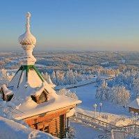 Морозный вечер на Белой горе :: Галина Ильясова