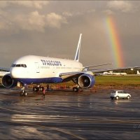 Боинг 777 TRANSAERO. :: Alexey YakovLev