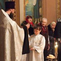 Рождественская служба в храме... :: Владимир Хиль
