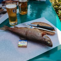 Обед на озере Кёнигзее :: Надежда Лаптева