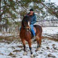Зимняя прогулка. :: ALEXANDR L