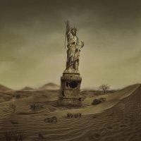 Статуя Свободы, постапокалипсис :: Оксана Львова