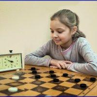 Рождественский турнир по шашкам :: Валентин Кузьмин
