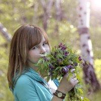 я и лес .....13 мая в березовом лесу :: Таня Харитонова