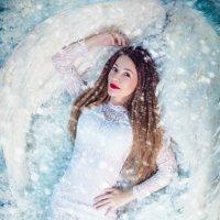 """Фотопроект """"Снежный ангел"""" :: Кристина Kottia"""