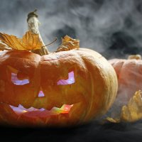 Хеллоуин :: Женечка Зяленая