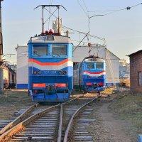 Электровозы ЧС7-059 и ЧС7-067 :: Денис Змеев