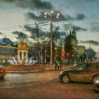 Ну вот… поехали... в новый год- зелёный... :: Ирина Данилова