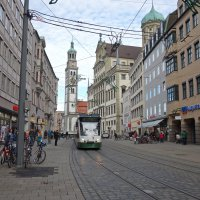 Augsburg -Безснежный январь :: Galina Dzubina