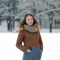 Зимний портрет :: донченко александр