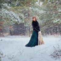 Прогулка с Белым :: Наталья Кирсанова