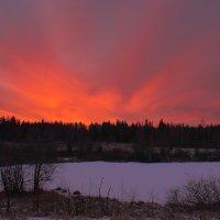 Рассвет на Пинеге :: Nikolay Zinoviev