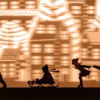 Фрагмент крутящегося фонаря на Большой Никитской :: Ренат Менаждинов