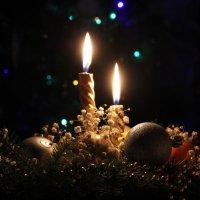 Погаснут новогодние свечи... :: Таня Соловьева