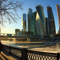 Закат в большом городе :: Dmitriy Martynenko