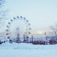 Колесо обозрения. Новосибирск. Зима 2016 :: Екатерина Бильдер