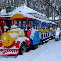 Зимний отдых.. :: Юрий Анипов