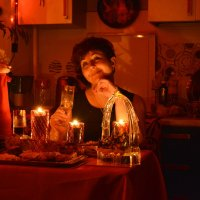 Романтичный вечер :: Ирина Бархатова