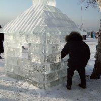 """Фестиваль ледяной скульптуры """"Хрустальная нерпа"""" :: alemigun"""