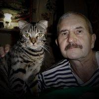 Автопортрет с Фантиком! :: Владимир Шошин