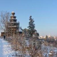 Торжок. Зимний пейзаж :: Леонид Иванчук