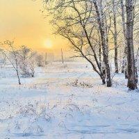 Зимний Закат :: андрей Соколов