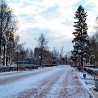 Зимний сквер :: Сергей F