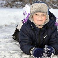Учимся кататься на коньках :: Ирина Жеребятьева