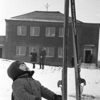 Папины лыжи :: Валерий Толмачев