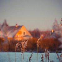 Закат в деревне :: Светлана Старикова