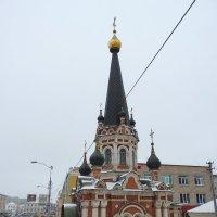 Часовня Николая Чудотворца при Нижне-Никольском храме. :: Galina Leskova