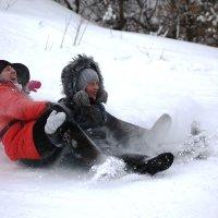 Зимние забавы всем по душе :: Оксана Дементьева
