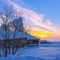 Утро в деревне... :: Александр Никитинский