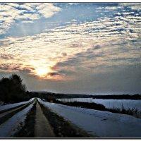 Рождественское небо в Подосиновце... :: ВладиМер