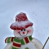 Снеговик :: Elena .