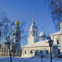 Православные храмы Вологды зимой :: Ирина Бархатова
