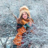Барышня Зима :: Виктор Седов