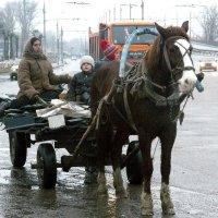 сборщики металлолома :: Леонид Натапов