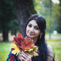 Осенние листья :: Daria Zaitseva